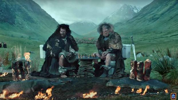 Aldi Commercial: Game on Thrones